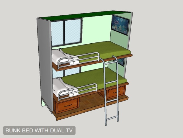 Bunk Bed Option